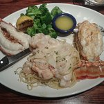 The seafood platter