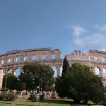 Arena in Pula on a sunny afternoon in September 2016