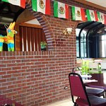 Mexican theme is very evident throughout