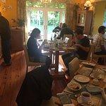 Breakfast room w/ fantastic buffet & food options