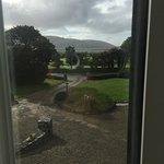 View from bedroom facing the Burren in distance