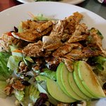 Grilled Chicken Cherry Apple Salad