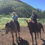 My wife and I on Geronimo and Big Red