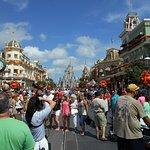 Main St Magic Kingdom.