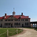 Historical, colonial grounds of Mount Vernon.