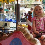 Market day can bring small rides for the littles, as well as antiques and local area goods.