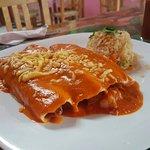Enchiladas de Mariscos