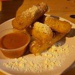 Mozzarella sticks and marinara - Yummy!