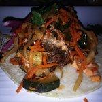 Kimchi shortrib taco