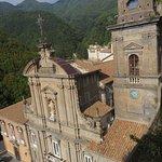 Benedictine monastery a short walk from the hotel.