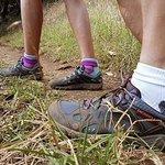 Wear appropriate footwear!