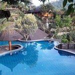 pool with nice view