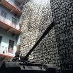 House of Terror Museum - yes that is a real tank in the courtyard of the buidling.