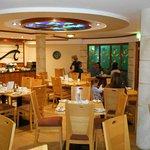 """Interesting """"sub-marine"""" breakfast room"""