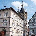 市庁舎と青の塔