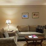 Lounge room in Queen suite