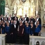 Canoryon Lowen, the Cornish Choir, singing in Cobh Cathedral, October 2016