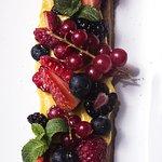 La crostatina ai frutti di bosco
