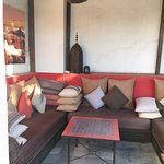 Roof terrace sofa