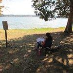 Reading at Lenoir City Park