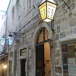 Entrance to the Synagogue Old City Dubrovnik 2016