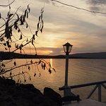 Beautiful sunsets over the Gulf of Kalloni