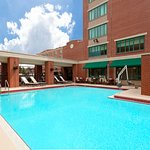 Pool Hampton Inn & Suites Hotel in Ybor City
