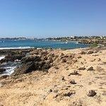 Walk along the beach and promenade