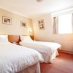 Example of one of our twin rooms