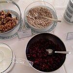 angolo yogurt nel buffet colazione