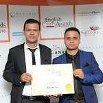 Jay Ali and Ansar Ali (Chef of the Year for East Region) English Curry Awards 2016