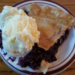 Huckleberry Pie Is a Local Favorite at Beckie's