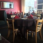 This is to show you the elegant look and feel of the restaurant. It was totally unexpected.