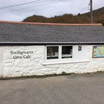 Porthgwarra Cave Cafe - welcome pit stop walking from Lands End to Porthcurnoe
