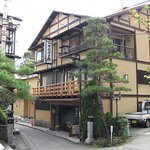 Our unassuming Ryokan, in the small streets of Kusatsu.