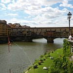 The world famous bridge in Florence !