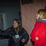 The Ghost Walk one stormy night! Dramatically caught by brilliant Grant Hyatt