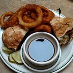 The French dip Burger