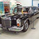 Mercedes 600, har tilhørt rejsekongen Simon Spies