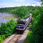 Our trains carry passengers along the Hudson River for a truly unique view of the Adirondacks.