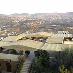View over Aljun and the hotel terrace