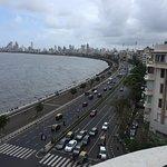 View from the roof looking down Marine Drive.