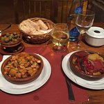 Lovely local Mallorcan style food