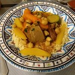 Le couscous royal (premier service....)