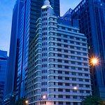 Facade of Ascott Raffles Place Singapore