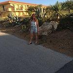l'oasis de sicilia Marmara le parc avec vue des chambres en fond