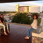 """Metromover station near American Airlines Arena, I like exposing my kids to """"urban"""" travel optio"""