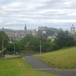 View toward the castle from Calton Hill