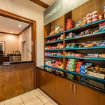 Grab a snack from the Pantry
