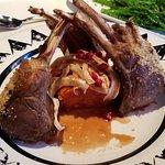 Rack of New Zealand lamb is incredible!